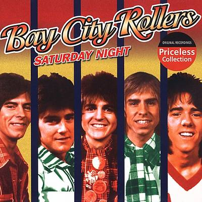 The list of 5 weekend themed songs includes an entry from The Bay City Rollers.