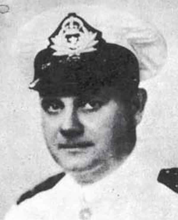 One of the 5 Illuminati conspiracy theories facilitators is William Guy Carr, photographed here in uniform.