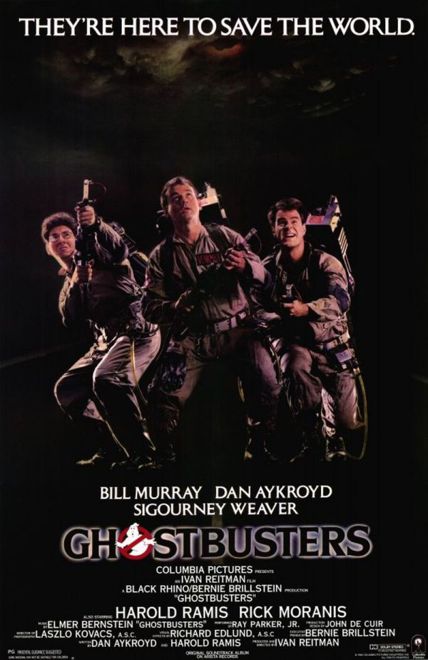 Ghosbusters is one of the top 6 best comedies from the 80s.