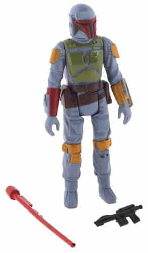 Another popular toy was the Boba Fett action figure.