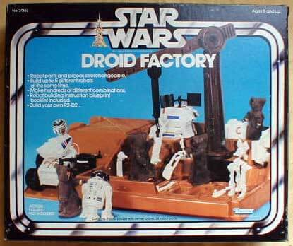 The top 15 best Star Wars toys includes the Droid Factory.