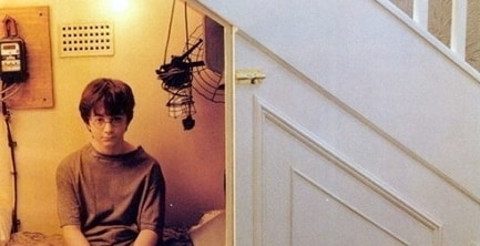 Harry might just be trying to escape from his harsh reality.