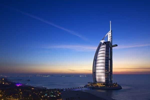 The highest ranked among the most extravagant resorts worldwide is Burj Al Arab.