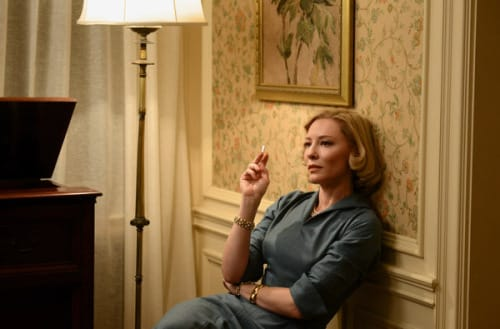Although it received six nominations, Carol did not make it to the Best Picture category.