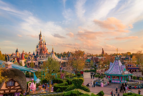 Disneyland Paris is the most visited park of its type in Europe.