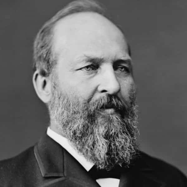 James A. Garfield was assassinated by a preacher.