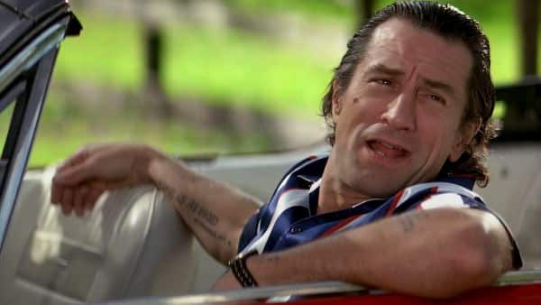 De Niro changed his teeth twice for the role of Mad Cady.