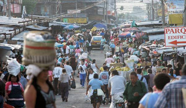 El Salvador is one of the top countries where your life is endangered.