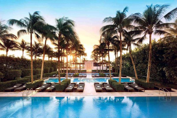 The Setai in Miami is definitely one of the most extravagant resorts worldwide.