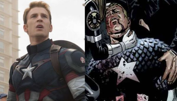 The Deaths - Differences Between The Civil War Movie And Comics