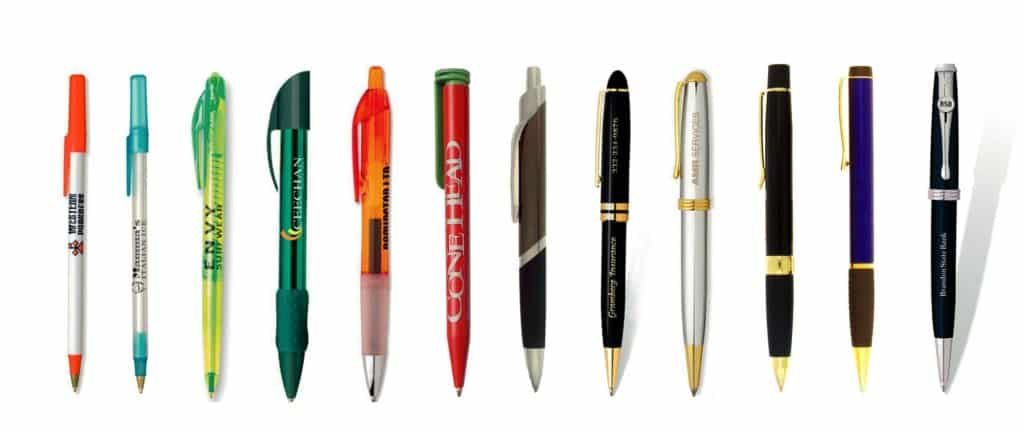 Collections of pens