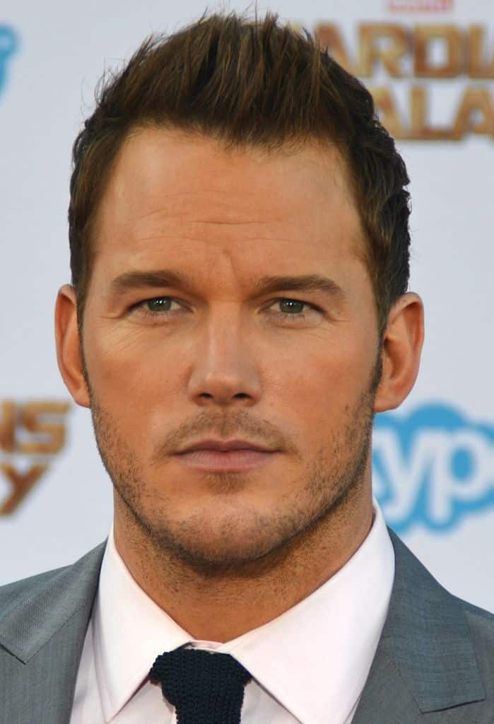 award winning actor Chris Pratt walk in red carpet in his movie